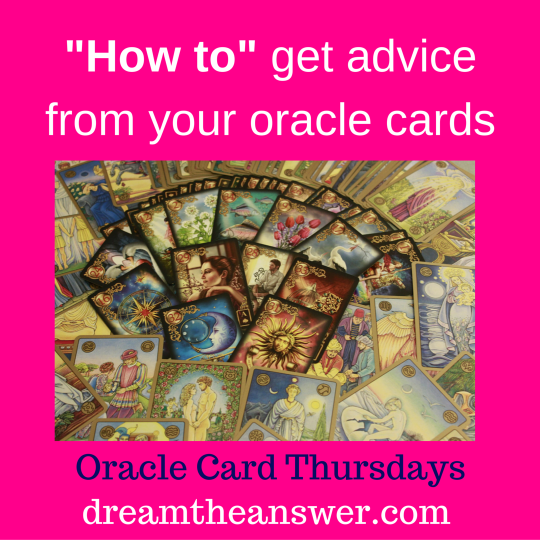 How to – Oracle Card Advice