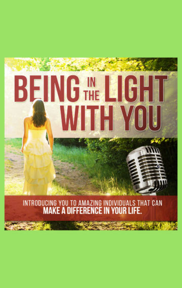 Being In The Light With You Kindle Cover